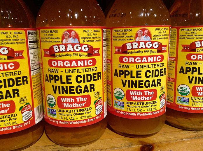 bragg apple cider vinegar for mange